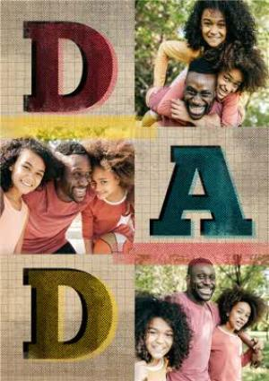 Greeting Cards - Large Photo Father's Day Card - Image 1