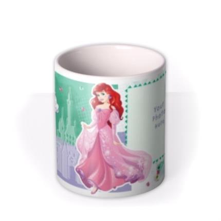 Mugs - Disney Princess Ariel Photo Upload Mug - Image 3