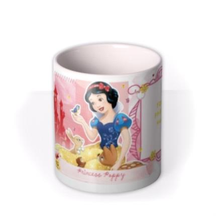 Mugs - Disney Princess Snow White Photo Upload Mug - Image 3