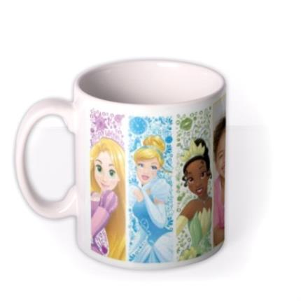 Mugs - Disney Princess Close Up Photo Upload Mug - Image 1