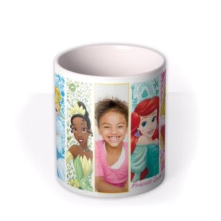 Mugs - Disney Princess Close Up Photo Upload Mug - Image 3