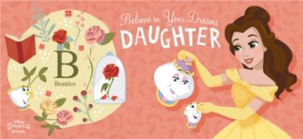 Mugs - Disney Beauty And The Beast Daughter Mug - Image 4