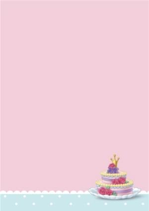 Greeting Cards - 5th Birthday Card - Disney Princess Card - Image 3