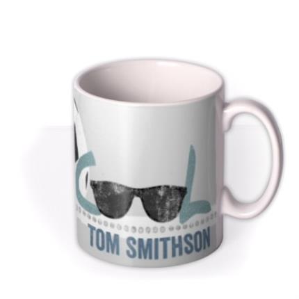Mugs - Father's Day Cool Personalised Mug - Image 2