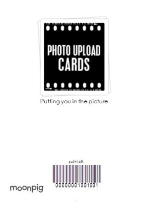 Greeting Cards - Classic Portrait Personalised Photo Upload Card - Image 4