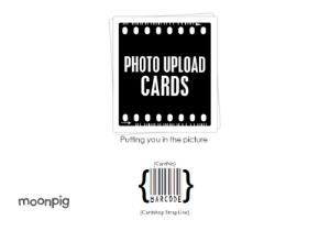 Greeting Cards - Landscape Personalised Photo Upload Greetings Card - Image 4