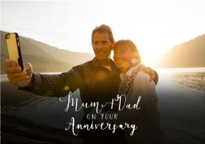 Greeting Cards - Anniversary Card For Mum & Dad - Image 1