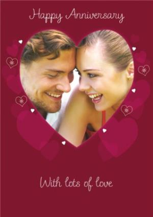 Greeting Cards - Heart Anniversary Card - Image 1