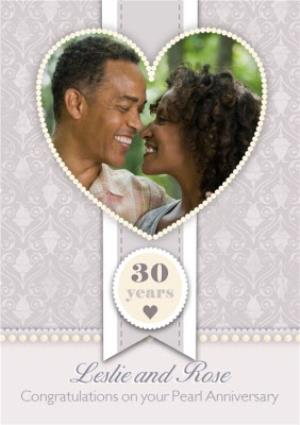 Greeting Cards - 30th Anniversary Card - Image 1