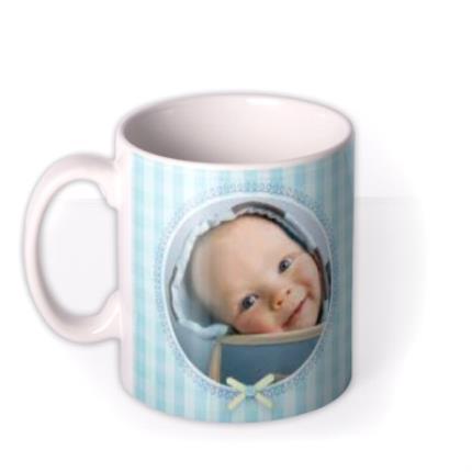 Mugs - Baby Boy Photo Upload Mug - Image 1