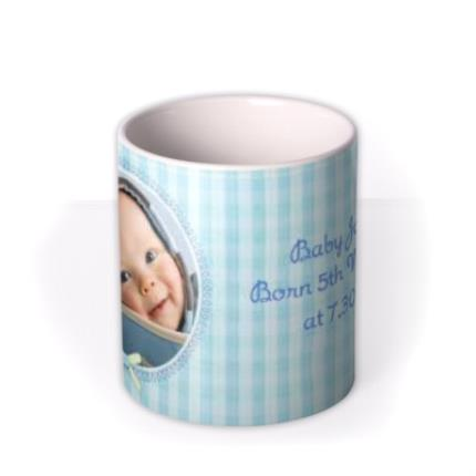 Mugs - Baby Boy Photo Upload Mug - Image 3