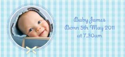 Mugs - Baby Boy Photo Upload Mug - Image 4