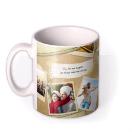 Mugs - Desktop Collage Photo Upload Mug - Image 1