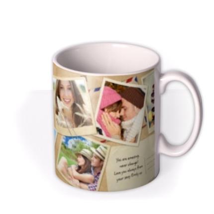 Mugs - Desktop Collage Photo Upload Mug - Image 2