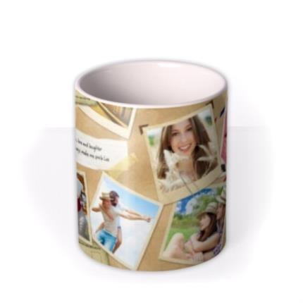 Mugs - Desktop Collage Photo Upload Mug - Image 3
