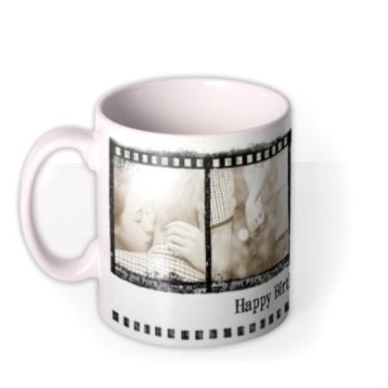 Mugs - The 4 Photo Film Strip Photo Upload Mug - Image 1