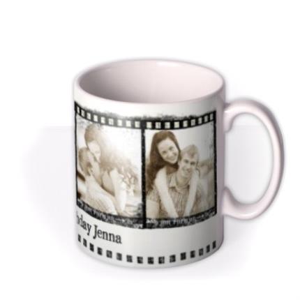 Mugs - The 4 Photo Film Strip Photo Upload Mug - Image 2
