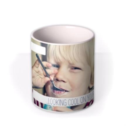 Mugs - Image Photo Upload and Personalised Text Mug - Image 3
