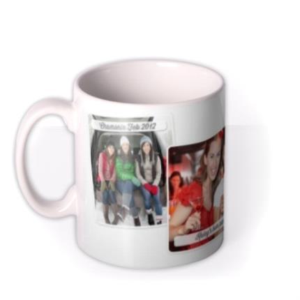 Mugs - Caption 3 Photo Upload Mug - Image 1
