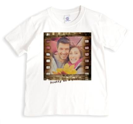 T-Shirts - Film Strip Photo Upload T-shirt - Image 1