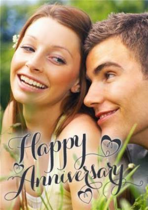 Greeting Cards - Large Photo Anniversary Card - Image 1