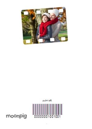 Greeting Cards - 24 Photo Birthday Upload Card - Image 4