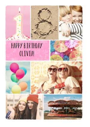 Greeting Cards - 18th Birthday Card - Image 1