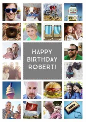 Multi Photo Upload Birthday Card