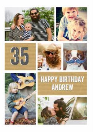35th Birthday Card