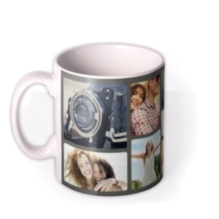 Mugs - Live Laugh Love Photo Upload Mug - Image 1