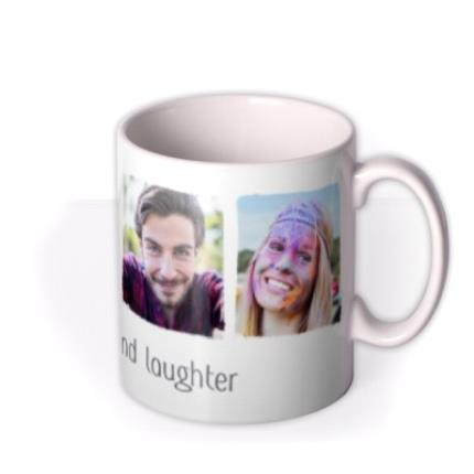 Mugs - Photo upload mug - live, love and laughter - Image 2