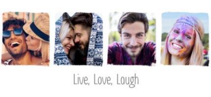Mugs - Photo upload mug - live, love and laughter - Image 4