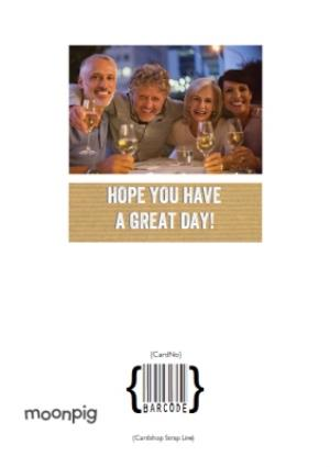 Greeting Cards - 50th Birthday Photo Upload Card  - Image 4