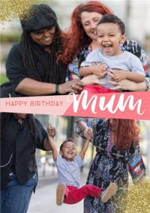 Greeting Cards - Birthday Card - Photo upload - Mum - Image 1