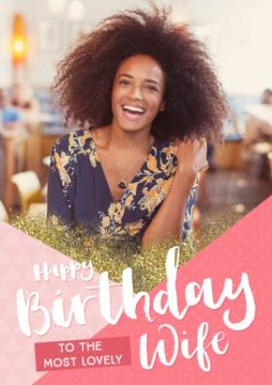Greeting Cards - Birthday Card - Photo upload - To My Wife - Image 1