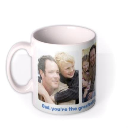Mugs - Father's Day Greatest Dad Photo Upload Mug - Image 1
