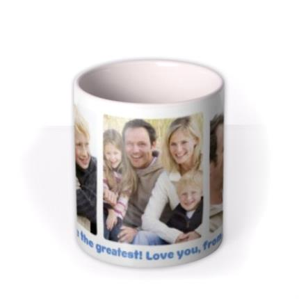 Mugs - Father's Day Greatest Dad Photo Upload Mug - Image 3