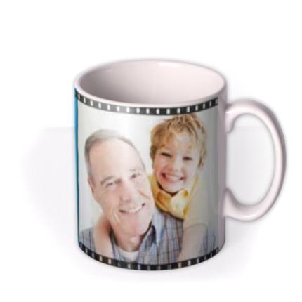 Mugs - Father's Day Best Grandad Ever Photo Upload Mug - Image 2