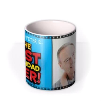 Mugs - Father's Day Best Grandad Ever Photo Upload Mug - Image 3