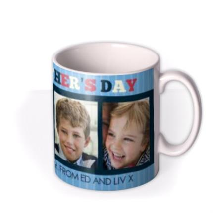 Mugs - Father's Day Best Daddy Photo Upload Mug - Image 2