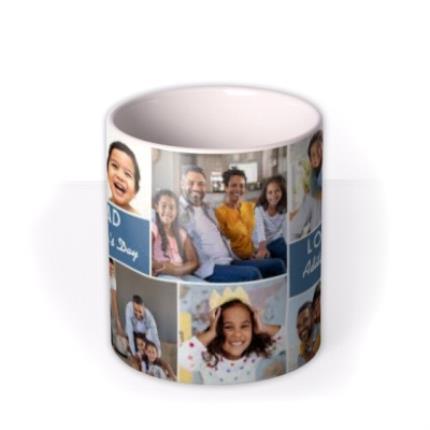 Mugs - Father's Day No.1 Dad Photo Upload Mug - Image 3