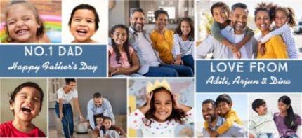 Mugs - Father's Day No.1 Dad Photo Upload Mug - Image 4