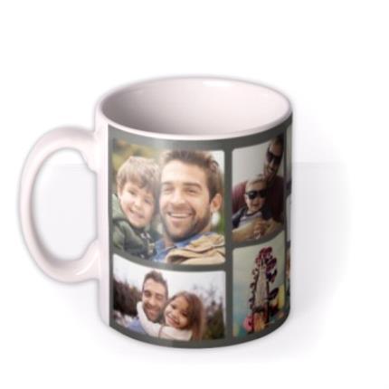 Mugs - Photo Upload Collage Memory Mug - Image 1