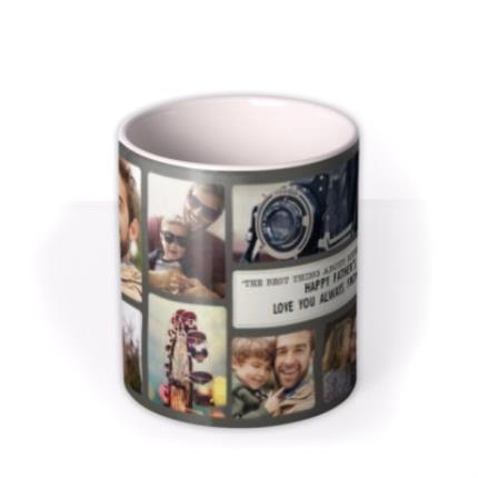 Mugs - Photo Upload Collage Memory Mug - Image 3