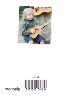 Greeting Cards - Best Daddy Ever 7 Square Personalised Photo Upload Happy Father's Day Card - Image 4