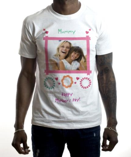 T-Shirts - Mother's Day To My Mummy Photo Upload T-shirt - Image 2