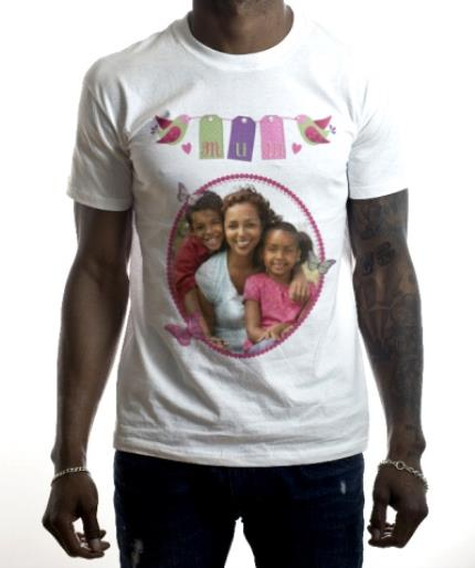 T-Shirts - Mother's Day Birds Photo Upload T-shirt - Image 2