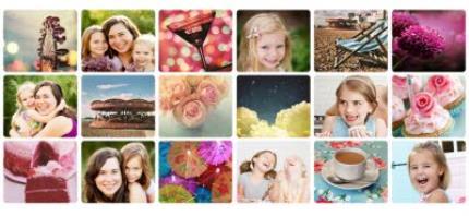 Mugs - Mother's Day 18 Collage Photo Upload Mug - Image 4