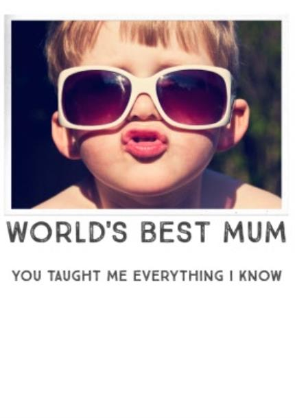 T-Shirts - Mother's Day World's Best Photo Upload T-shirt - Image 4