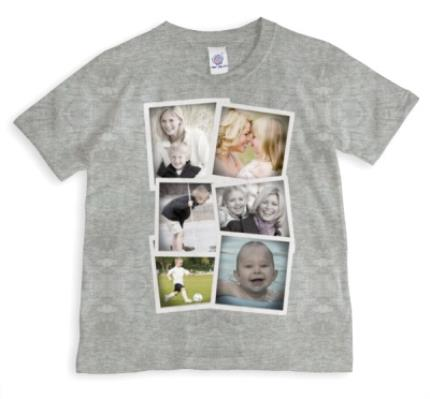 T-Shirts - Photo Collection Photo Upload T-shirt - Image 1